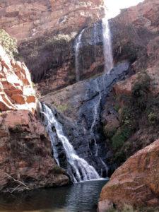 Waterfall at the Walter Sisulu Botanical Gardens